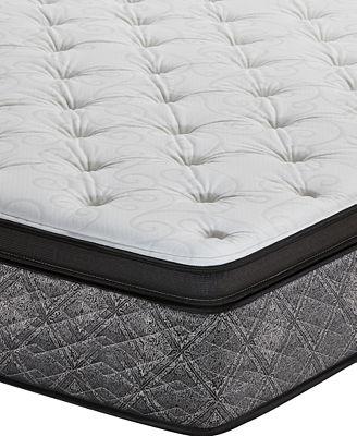 Macybed By Serta Resort 13 Firm Euro Pillow Top Mattress Full