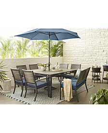 Harlough II Outdoor Dining Collection, with Sunbrella® Cushions, Created for Macy's