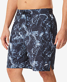 "Speedo Men's Pulling Tide E-Board 9"" Swim Trunks"
