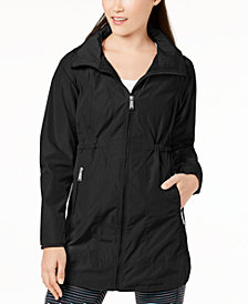 Calvin Klein Performance Long-Line Hooded Jacket