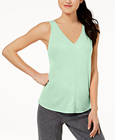 Calvin Klein Performance Vent-Back Tank Top