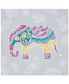Mi Zone Elly the Elephant Gel-Coated Canvas Print
