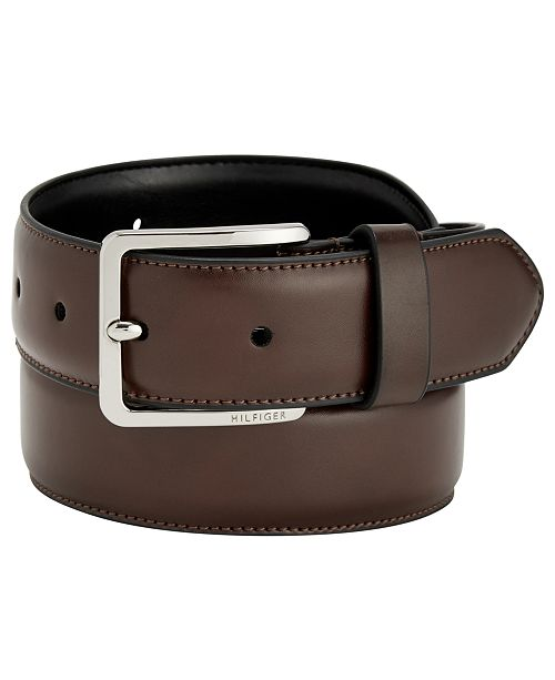 7ad6b9089f18 Tommy Hilfiger Men s Flex Dress Belt   Reviews - All Accessories ...