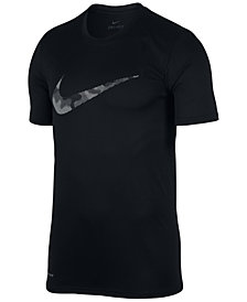 Nike Men's Dry Legend Print-Logo T-Shirt