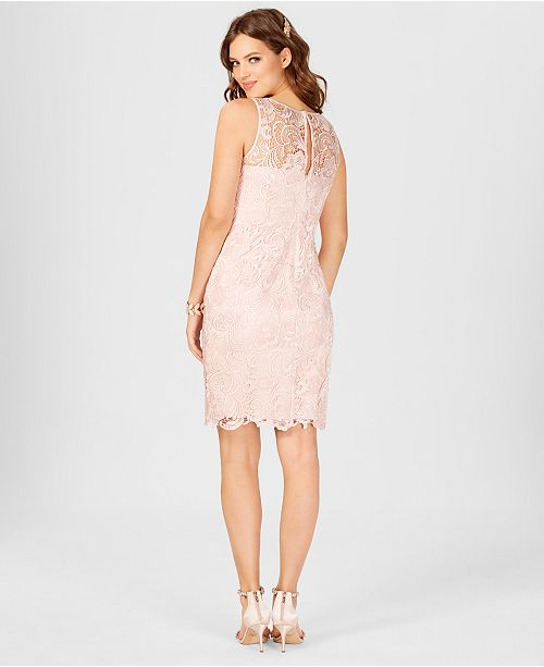 d70788b8 Adrianna Papell Lace Sheath Dress & Reviews - Dresses - Women - Macy's