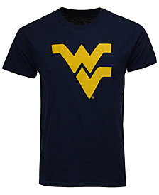 New Agenda Men's West Virginia Mountaineers Big Logo T-Shirt