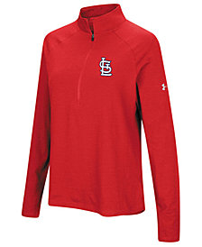 Under Armour Women's St. Louis Cardinals Passion Half-Zip Pullover