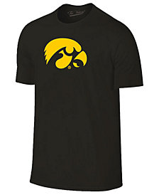 New Agenda Men's Iowa Hawkeyes Big Logo T-Shirt