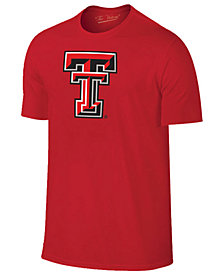 New Agenda Men's Texas Tech Red Raiders Big Logo T-Shirt