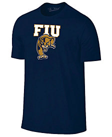 New Agenda Men's Florida International Golden Panthers Big Logo T-Shirt