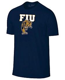 New Agenda Men's Florida International Golden Panthers Big Logo T-Shirt