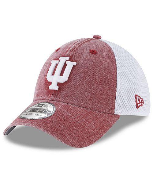 New Era Indiana Hoosiers Washed Neo 39THIRTY Cap