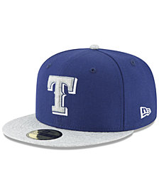 New Era Texas Rangers Pop Color 59FIFTY Fitted Cap