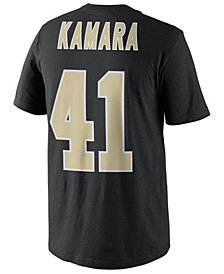 Nike Men's Alvin Kamara New Orleans Saints Pride Name and Number T-Shirt