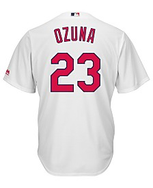 Majestic Men's Marcell Ozuna St. Louis Cardinals Player Replica Cool Base Jersey