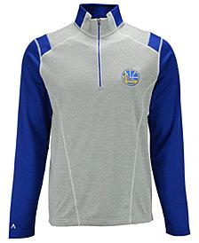 Antigua Men's Golden State Warriors Automatic Half-Zip Pullover