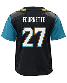 Nike Leonard Fournette Jacksonville Jaguars Game Jersey, Little Boys (4-7)