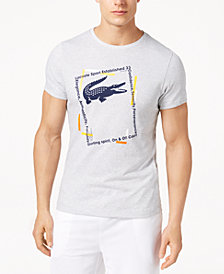 Lacoste Men's Ultra Dry Logo-Print T-Shirt