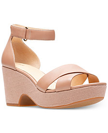 Clarks Artisan Women's Maritsa Ruth Wedge Sandals