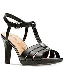 Clarks Women's Adriel Tevis Dress Sandals