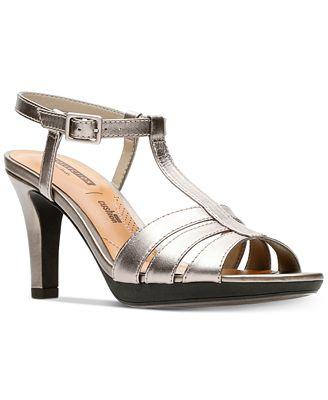 Womens Adriel Tevis Ankle Strap Sandals Clarks