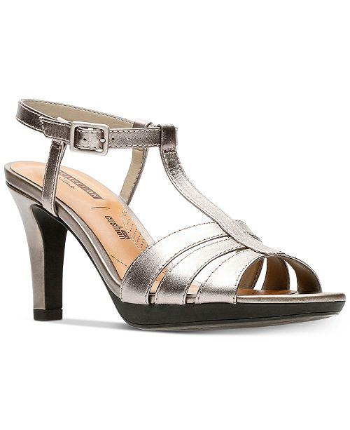 Womens Adriel Tevis Ankle Strap Sandals Clarks 3QzyL