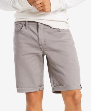 9df5e0ba13b Levi's Men's 511 Slim-Fit Cutoff Ripped Jean Shorts In Steel Grey ...