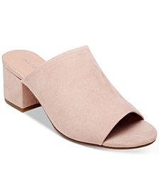Madden Girl Lorna Block-Heel Slides