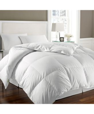 Kathy Ireland Essentials White Goose Feather & Down Twin Comforter