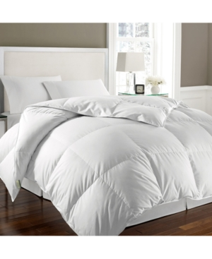 Essentials White Goose Feather & Down Full/Queen Comforter