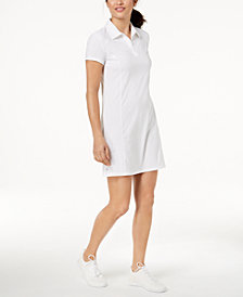 Ideology Short Sleeve Tennis Dress, Created for Macy's