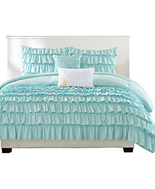 Intelligent Design Waterfall 4-Pc. Twin/Twin XL Comforter Set