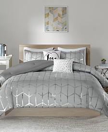 Intelligent Design Raina 5-Pc. King/California King Comforter Set