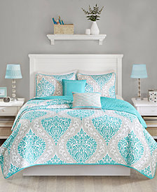 Intelligent Design Senna 5-Pc. Full/Queen Coverlet Set