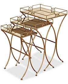 Tracie Nesting Table (Set Of 3), Quick Ship