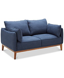 "Jollene 62"" Fabric Loveseat, Created for Macy's"