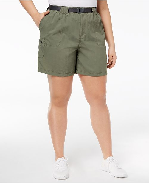 Columbia Plus Size Sandy River™ Belted Cargo Shorts
