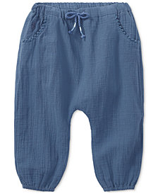 Polo Ralph Lauren Cotton Pants, Baby Girls