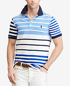 Polo Ralph Lauren Men's Striped Classic Fit Piqué Polo