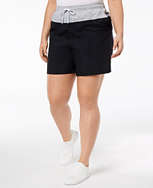 Columbia Plus Size Sandy River Colorblocked Shorts