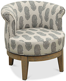 Holtin Swivel Accent Chair, Quick Ship