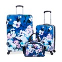 Tag Pop Art 3-Piece Hardside Spinner Luggage Set