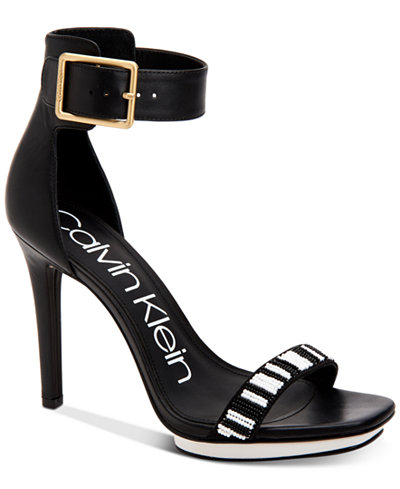 Calvin Klein Women's Vable Dress Sandals