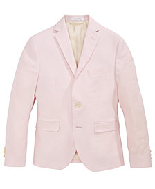 Lauren Ralph Lauren Pink Linen Suit Jacket, Big Boys