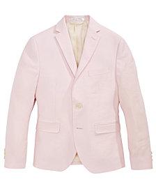 Lauren Ralph Lauren Pink Linen Suit Jacket, Big Boys