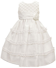 Jayne Copeland Pintuck Bodice Dress, Little Girls