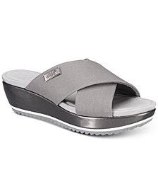 Anne Klein Sport Felisha Wedge Slip-On Sandals