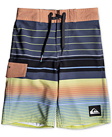 Quiksilver Highline Swell Swim Trunks, Little Boys