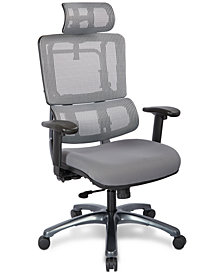 Adkin Office Chair with Headrest, Quick Ship