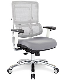 Adkin Mesh Office Chair - White